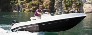 Foto partenza barca open 6 metri