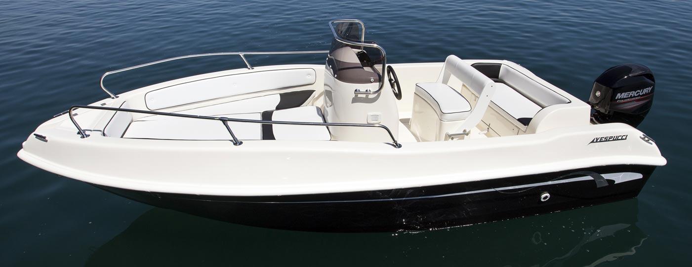 Barca open 5 5 metri a motore senza patente for Barca a vapore per barche da pesca