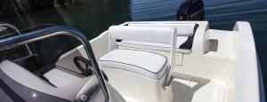 Foto sedile di guida barca a motore open 5,5 metri ( 18 piedi ) – Vespucci open 18