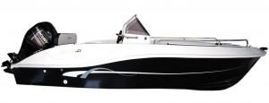 Foto profilo barca Vespucci open 5 metri con motore mercury – guida senza patente nautica