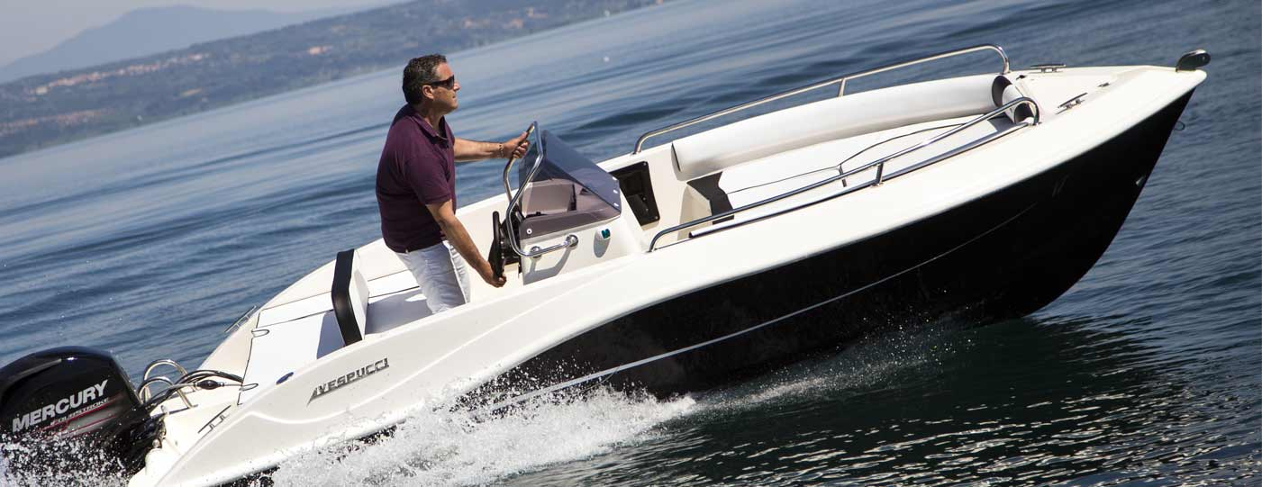 Foto della barca Open 17 di Vespucci