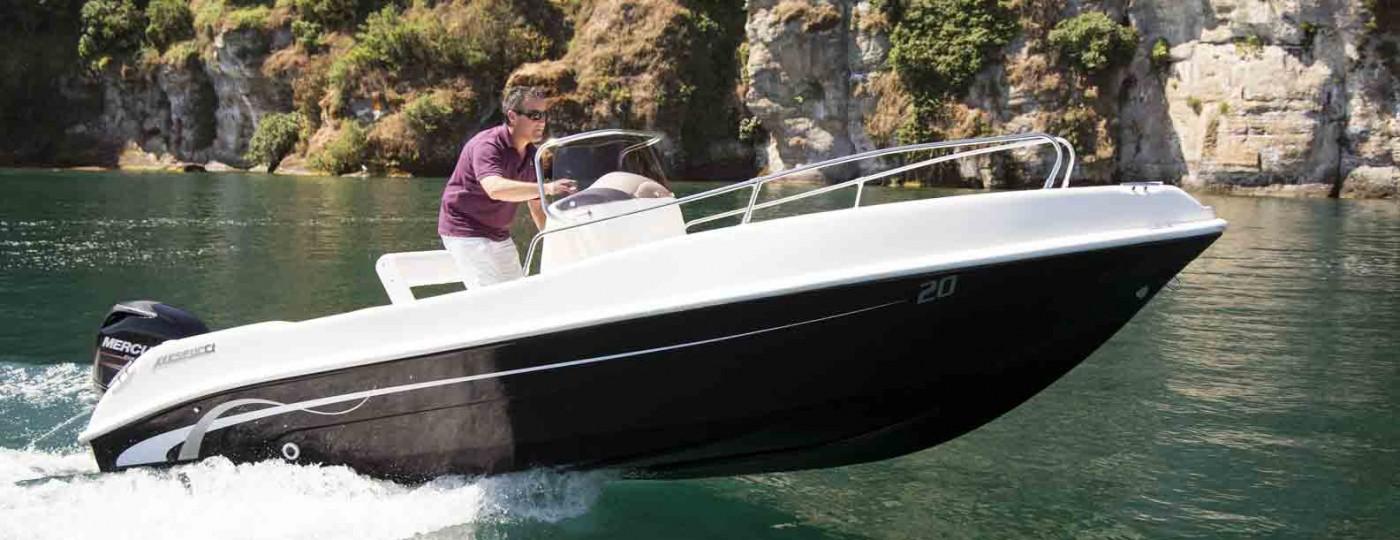 Planata barca open 6 metri Vespucci