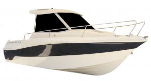 fotografia barca da pesca a motore cabinata 5,70 mt | Vespucci barche