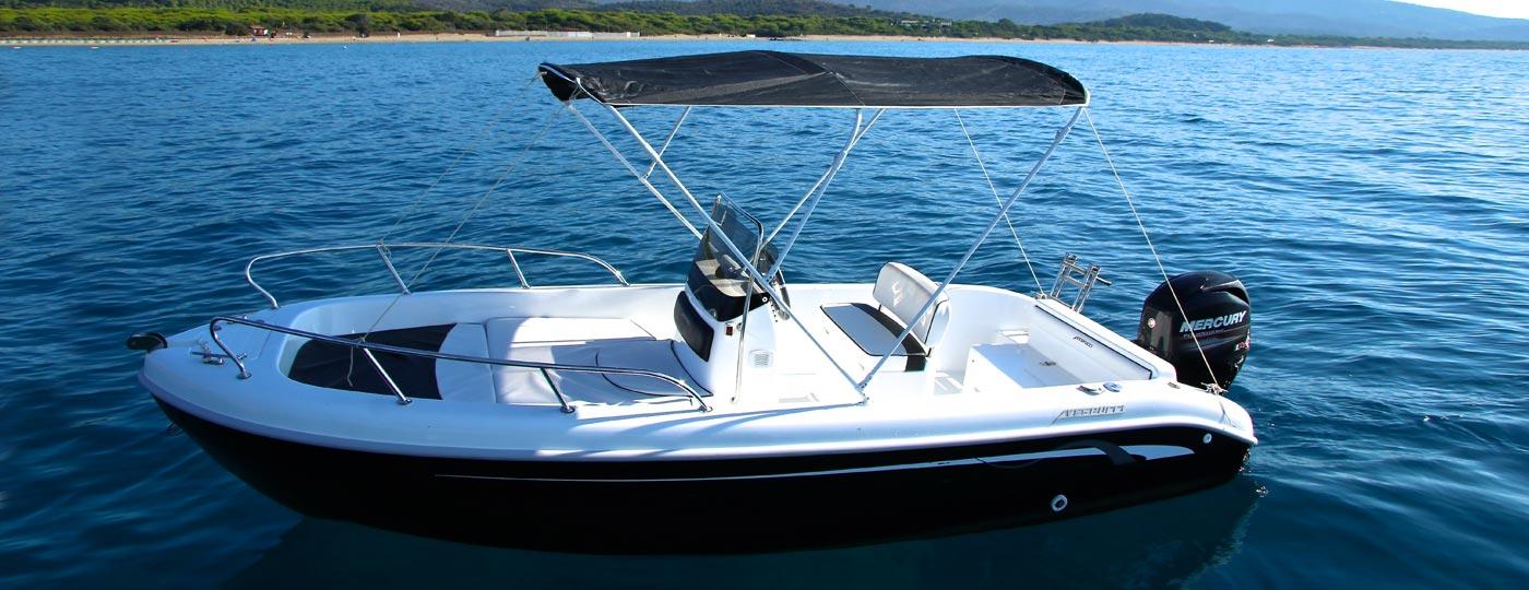 Immagine vandita barca a motore Open 17 con tendalino - Vespucci